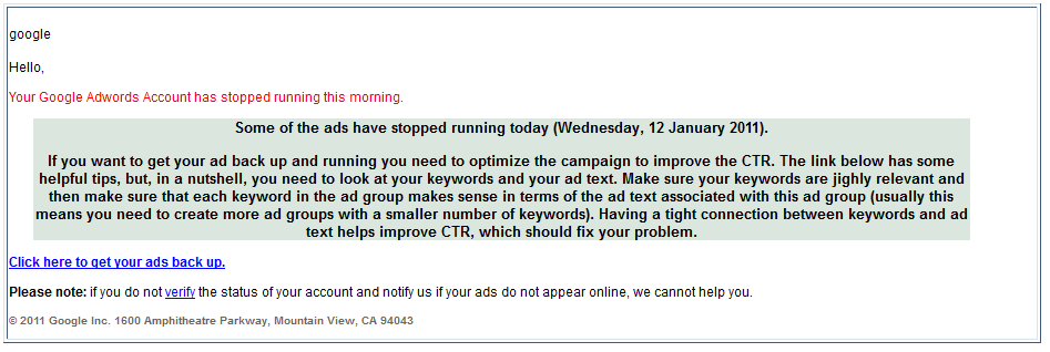 Google-AdWords-spam-mails