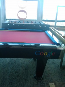 Google Pool tafel