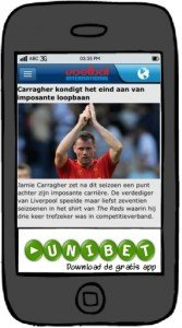 Mobiele display advertentie VI