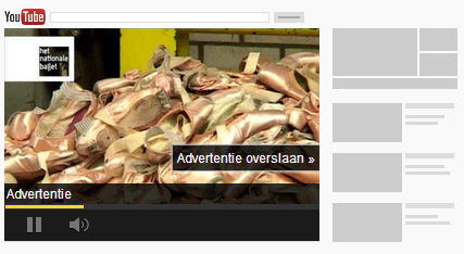 InStream YouTube advertentie