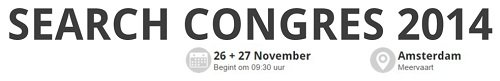 Search Congres 2014 - alles over Search Engine Optimization (SEO) en Search Engine Advertising (SEA).