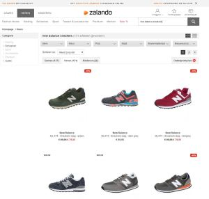 sitelink search box zalando interne zoekmachine