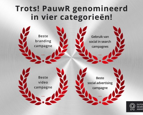 Nominaties Dutch Search Awards 2017